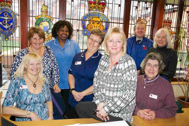 Staff at Dunkirk Memorial House who are looking forward to welcoming their first dementia residents.