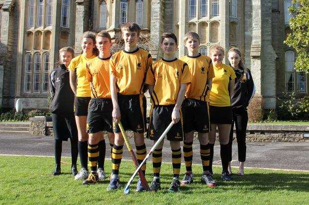 Pictured from left, are Imogen Allen, Rebecca Handford, Ben Stevenson, Dan Wilde, Patrick Free, Elliot Fathers, Livvy Hoskins and Laura Fry.