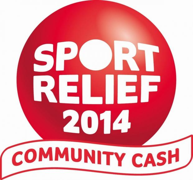 Sport Relief day at Cresta Leisure Centre in Chard