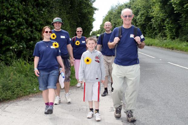 This is The West Country: Great Somerset Walk in aid of St Margaret's Hospice