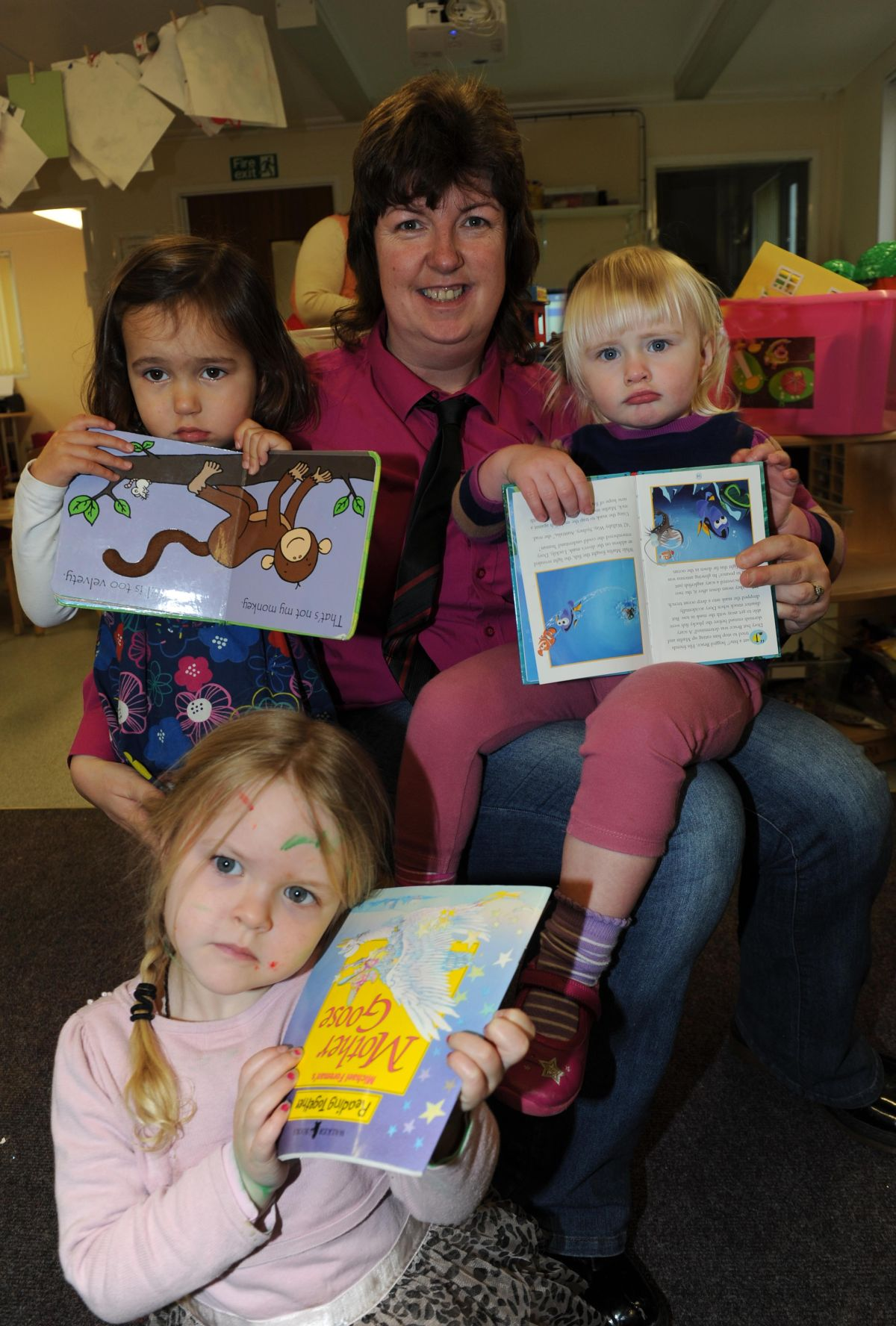 It's all topsy-turvy at Ilminster pre-schooll