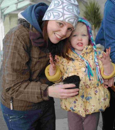Gardening adventure for toddlers at Gyllyngdune: PICTURES