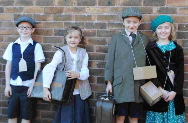 St Francis pupils get into the blitz spirit for World War II day: PICTURES