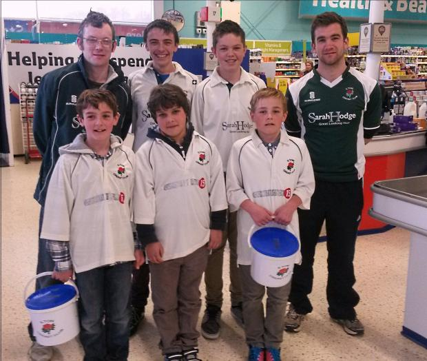 This is The West Country: Ilton Cricket Club juniors pack shopping to raise funds