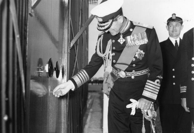 THE Duke of Edinburgh opens the Fleet Air Arm Museum in 1964.