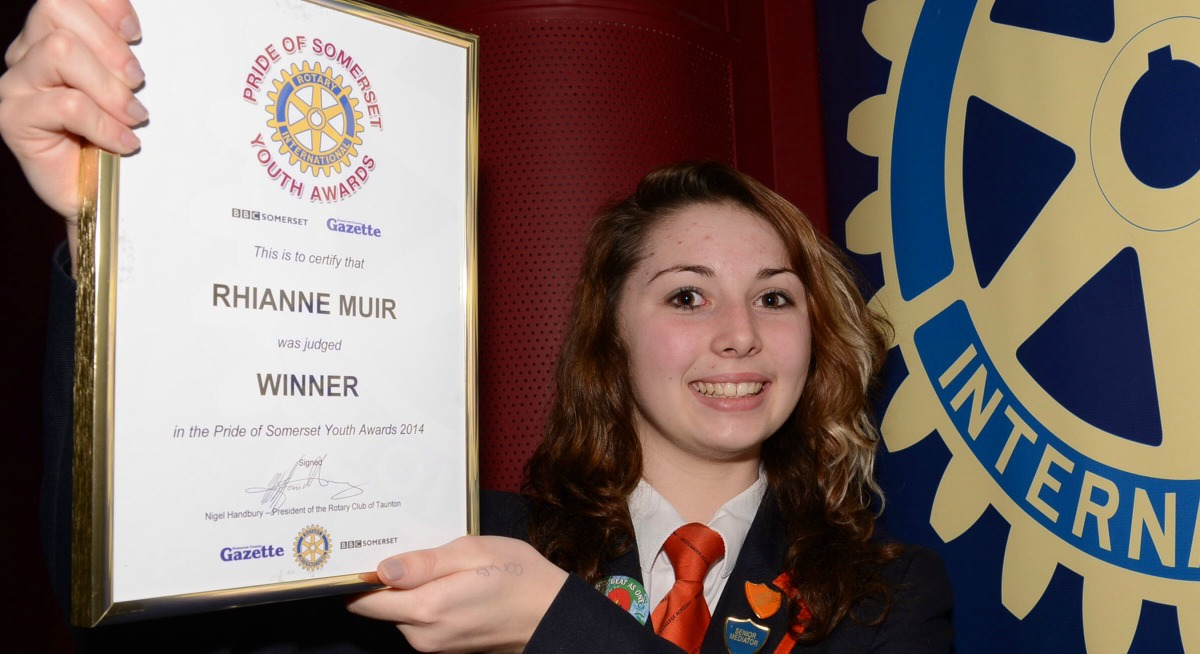 VIDEO: Exceptional young people honoured at Pride of Somerset Youth Awards