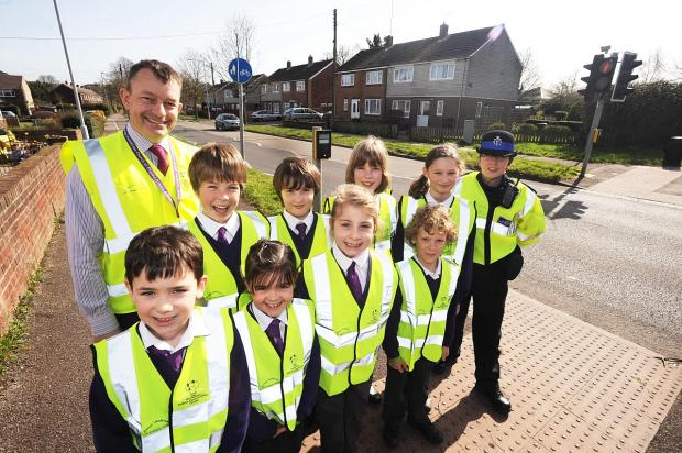 Road safety the priority at Bishop Henderson Primary School