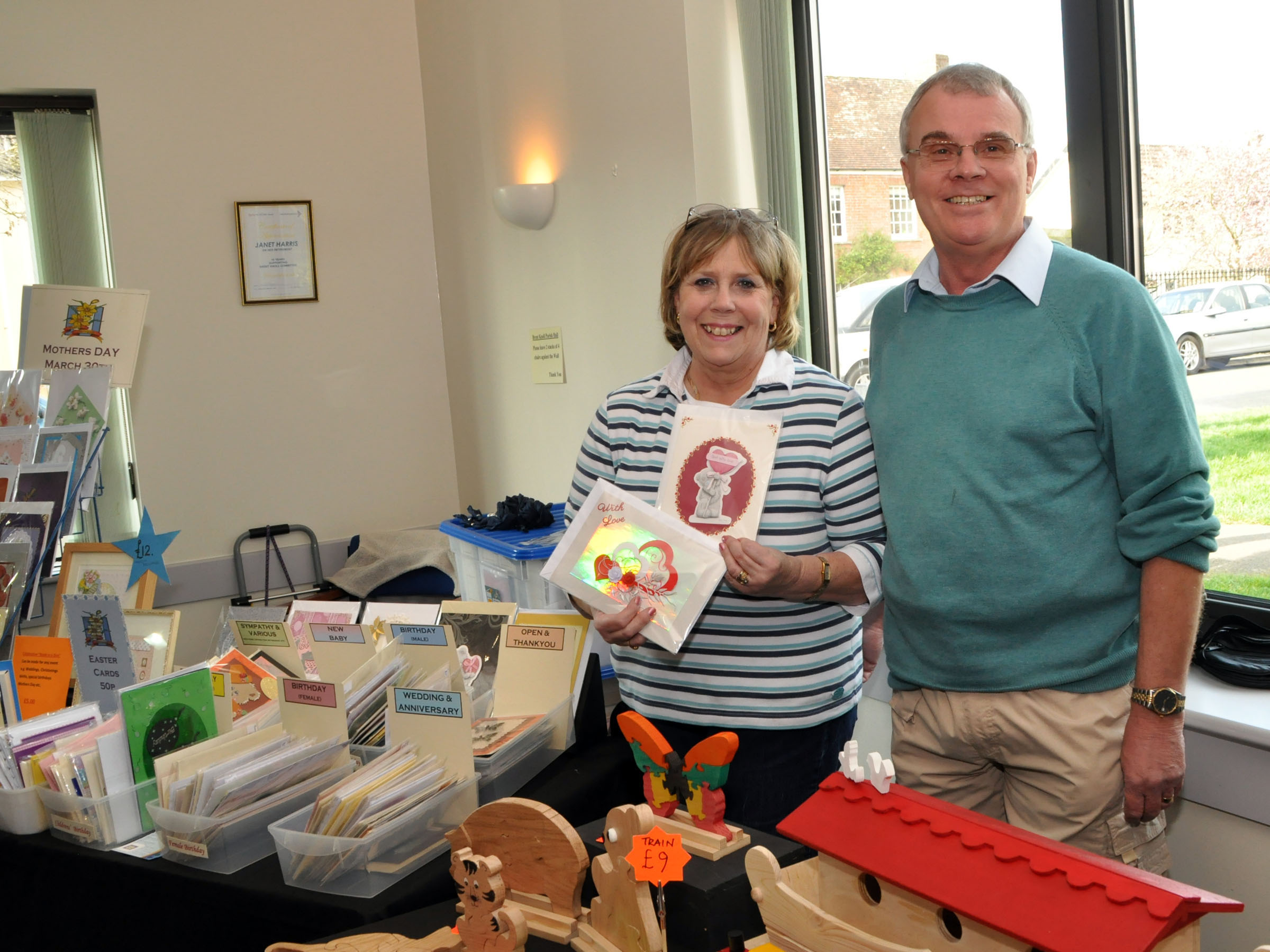 Shoppers enjoy selection at Brent Knoll bazaar