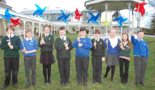Primary pupils create art and nature trail for Falmouth's Spring Festival
