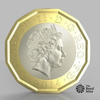 This is The West Country: The new one pound coin announced by the Government will be the most secure coin in circulation in the world (HM Treasury/PA)