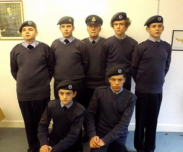Crediton Cadets kitted out for action