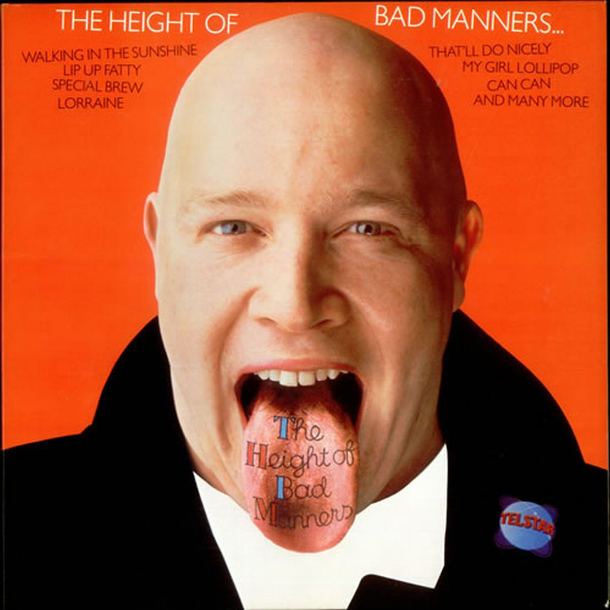 BUSTER Bloodvessel: The height of Bad Manners!