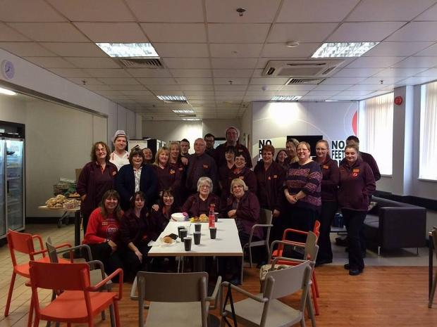 40 years and counting for Sainsbury's worker Jessie