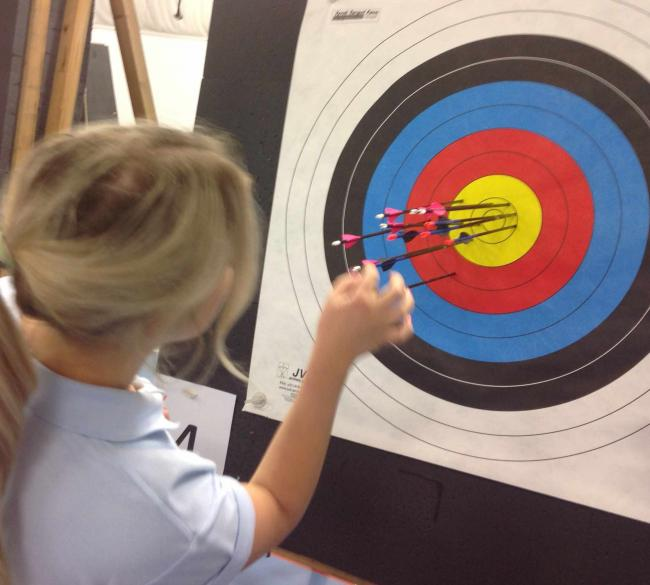 ARCHERY is among the activities on offer this Easter.