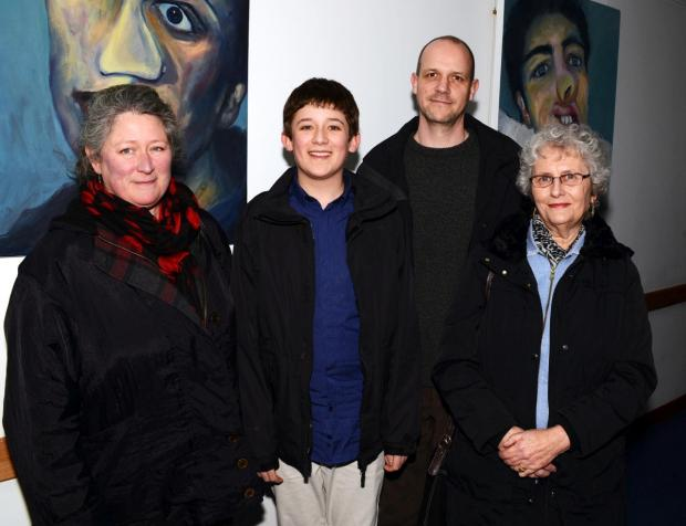 This is The West Country: JOSEPH'S grandmother, Monique Turnbull, Nicole, Joseph, Greame Wigley, and Cllr David Fothergill.