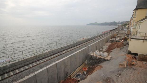 Rail line at Dawlish set to reopen on April 4