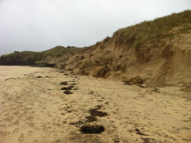 Warning over sheer sand cliffs and rip currents at Cornish beaches