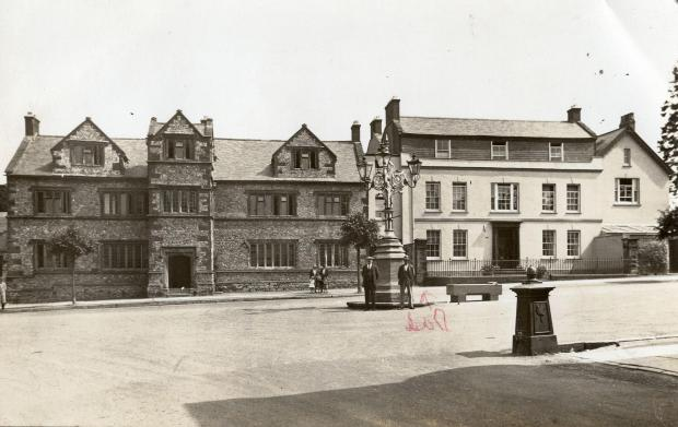 This is The West Country: Old postcard shows Chard School