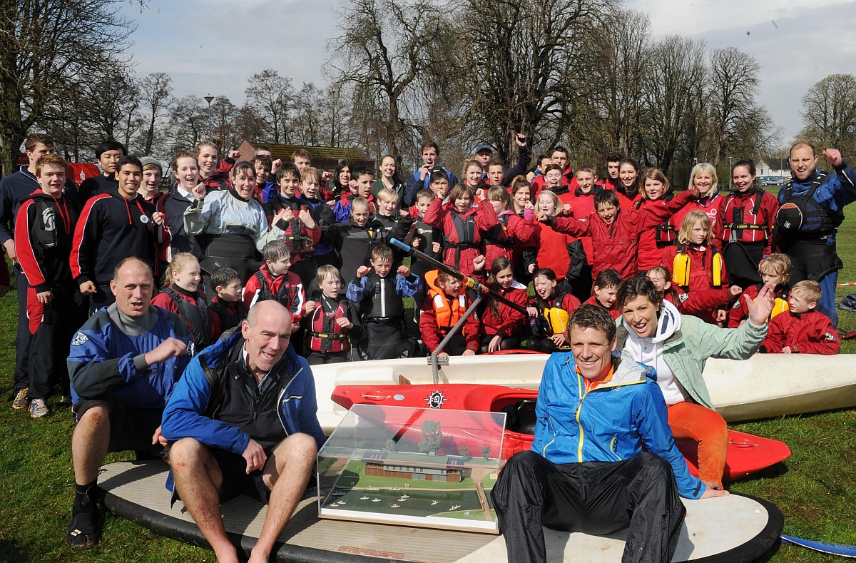 Olympic rower backs youth watersports facility in Taunton