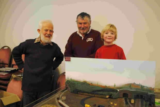 Falmouth railway modellers chuffed with turn out: PICTURES