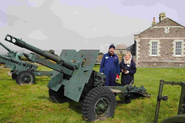Pendennis Castle brings back noonday artillery fire