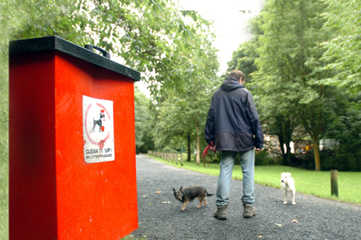 Dog owners warned over bins abuse