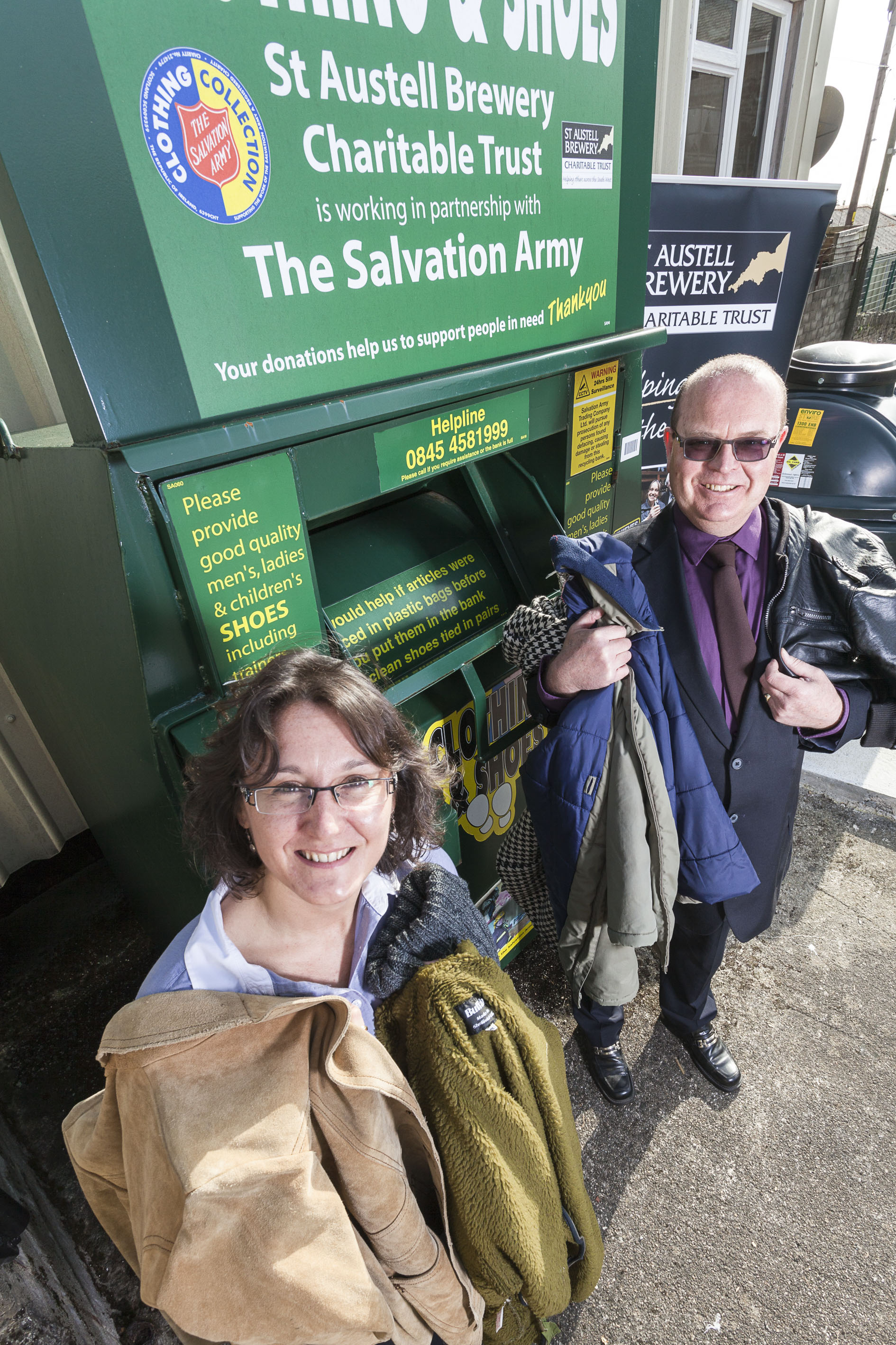 Unwanted clothing turned into charity cash