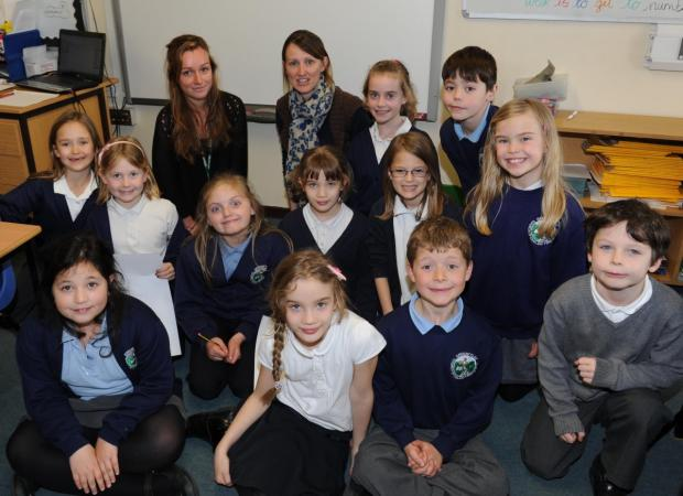Ilminster school meets special visitor from France