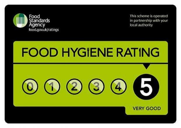 Chard and Ilminster businesses score well in food hygiene ratings