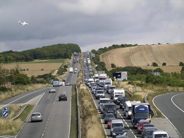 Cornwall and Devon brace for busiest day on the roads