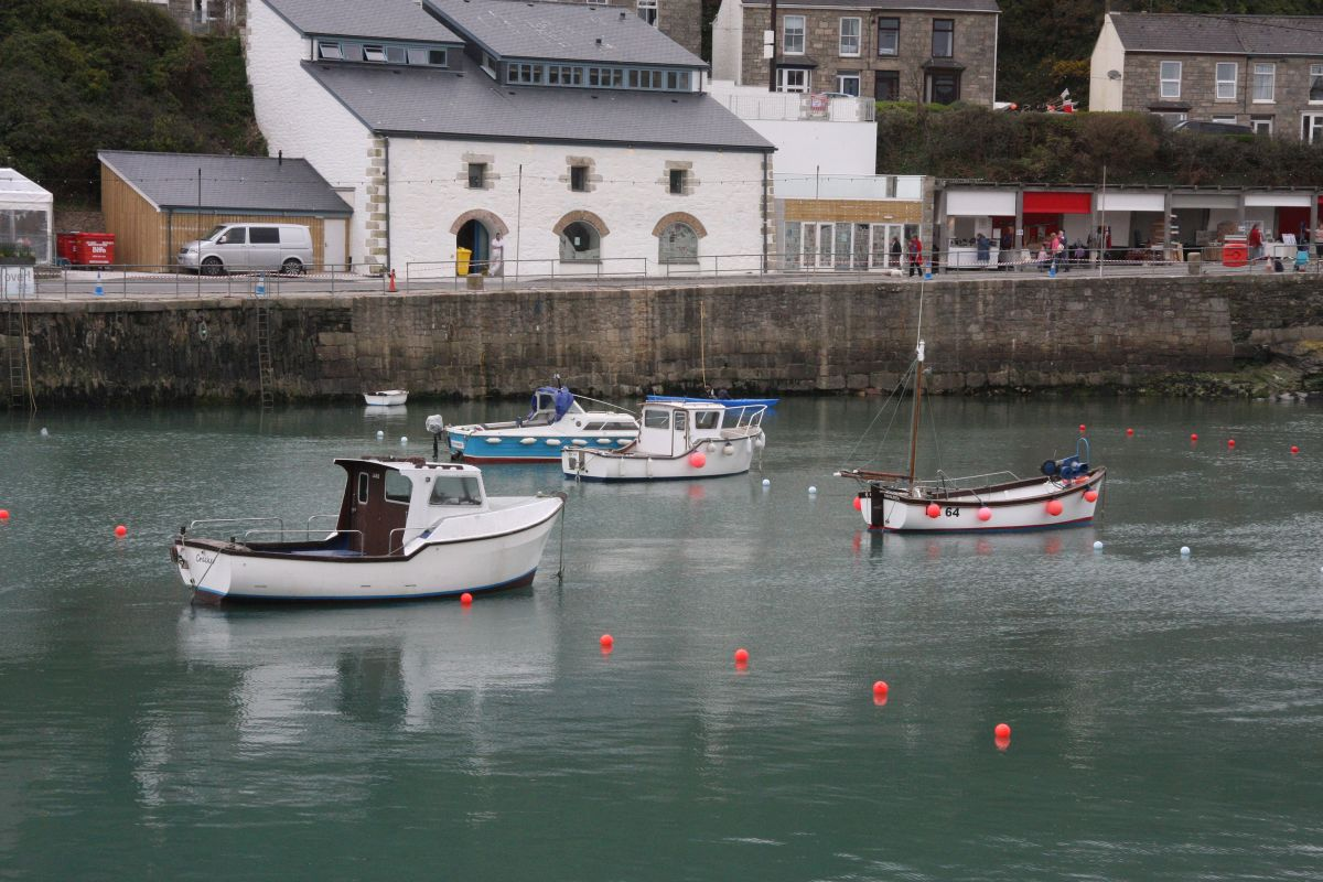 Boats return to Porthleven harbour: PICTURES