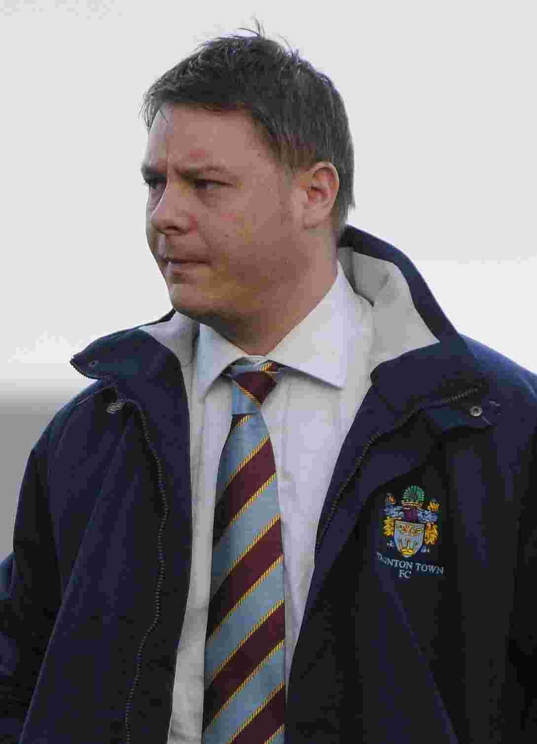 Leigh Robinson reappointed Taunton Town manager for 2014/15 season