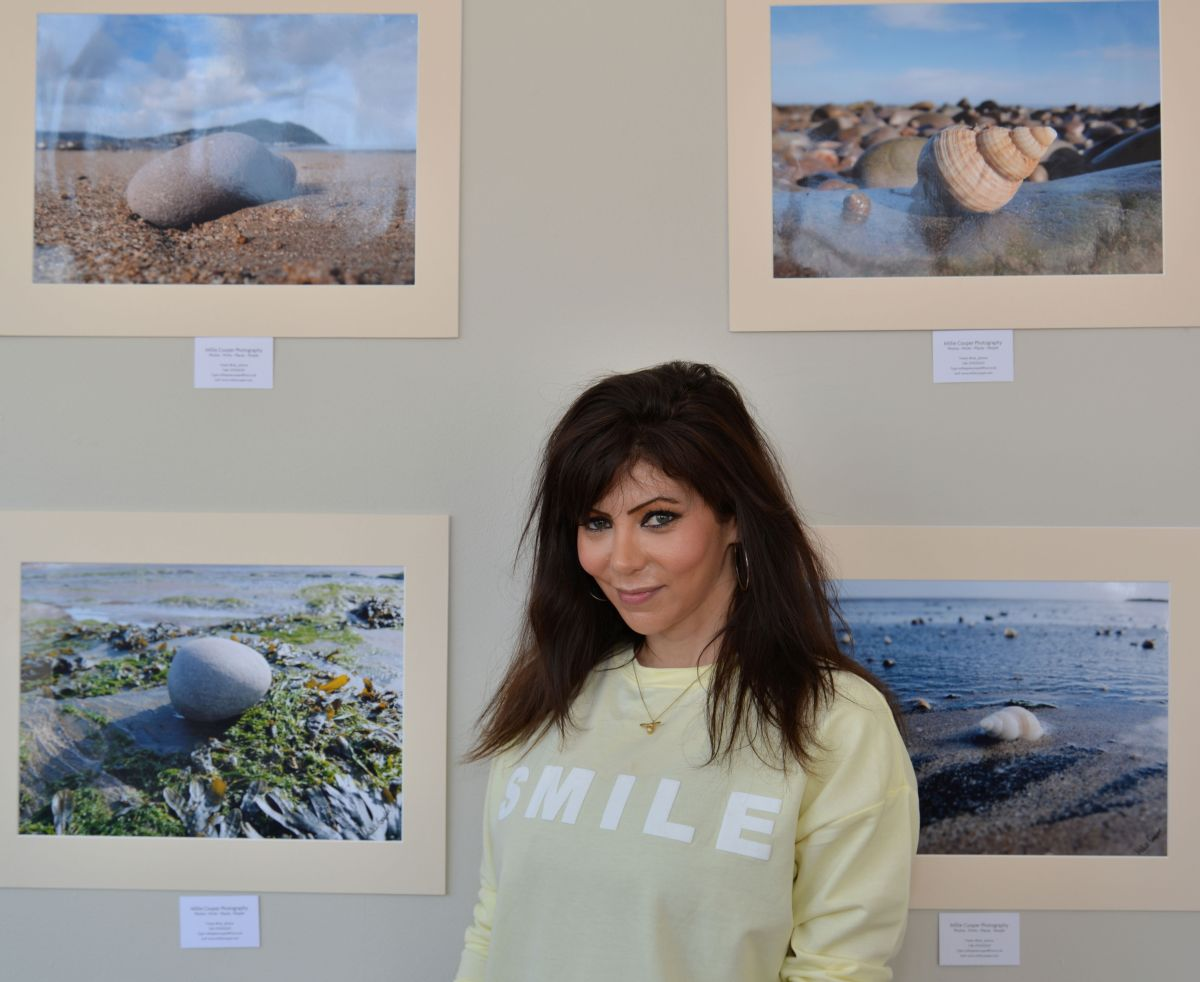 MILLIE Cooper's photographs will be displayed at the Beach Hotel. PHOTO: Somerset Photo News.