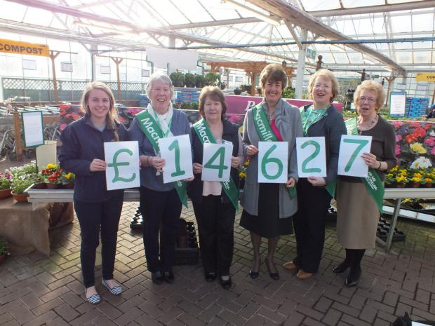 OTTERY GARDEN CENTRE STAFF AND CUSTOMERS ARE BLOOMIN' MARVELLOUS