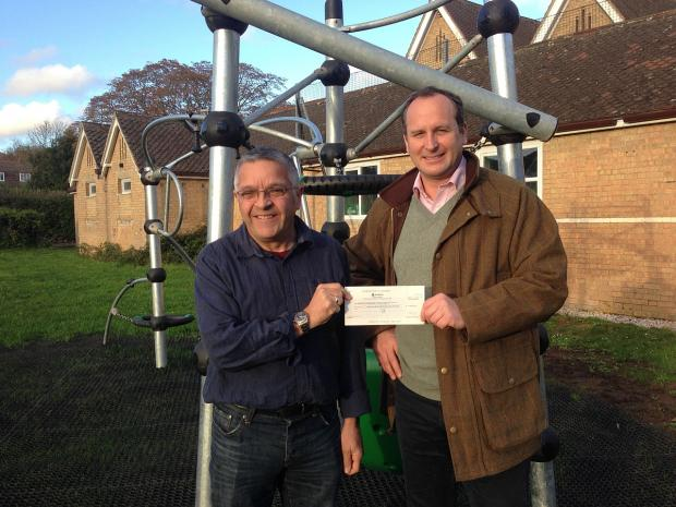 Cash for Norton Fitzwarren play equipment refurb