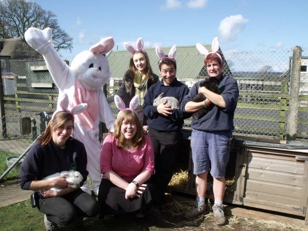 This is The West Country: Staff at Ferne Animal Sanctuary.