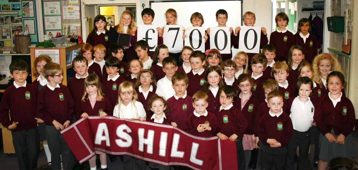 Ashill Primary School auction of promises raises £7,000