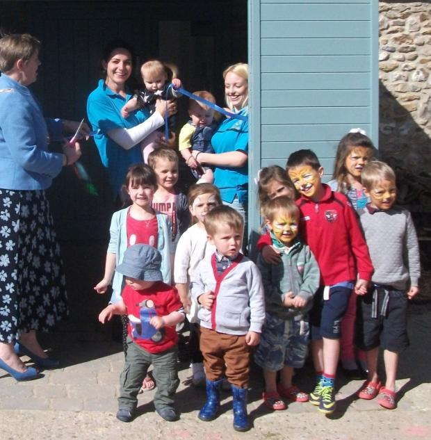 This is The West Country: Easter fun at Little Boots Day nursery in Horton