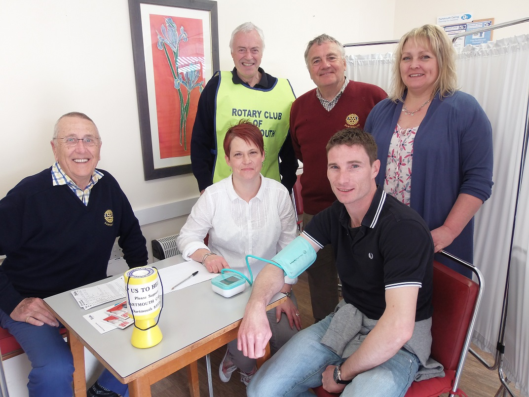 Blood Pressure Check Day proved to be wonderful Success