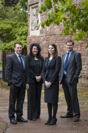 High flying Exeter legal eagles promoted