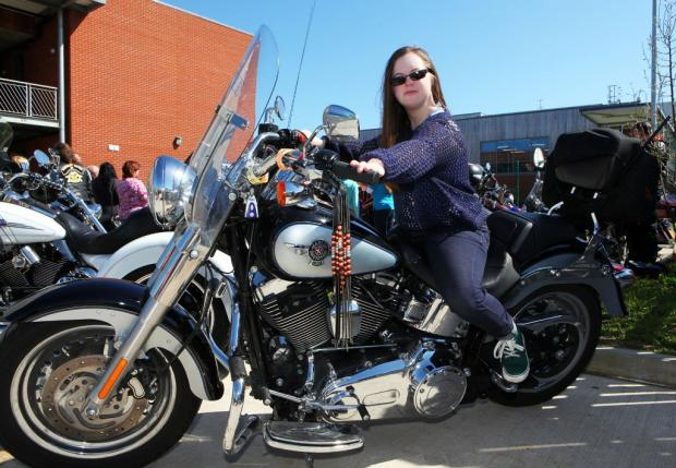Bikers give charity kids a cracking Easter