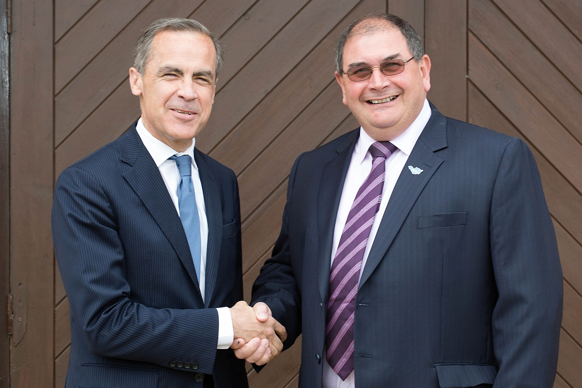 Bank of England governor briefed on Hinkley Point project during Somerset visit