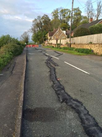 New Road in Ilminster will not re-open until Christmas