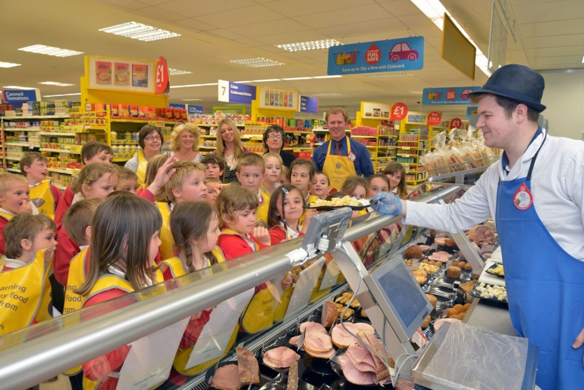 Pupils from St Peter's, Williton take part in Farm to Fork