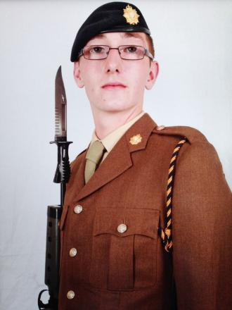 Soldier killed by trailer in Devon named