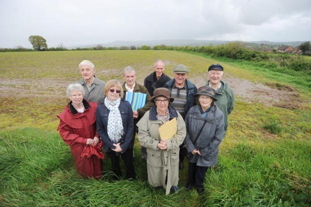 This is The West Country: Residents opposed to the development