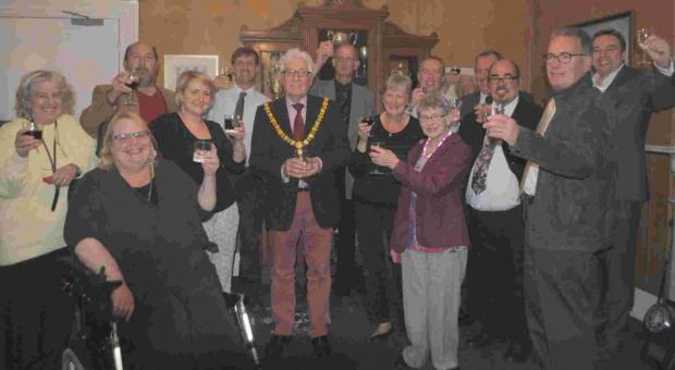 Final meeting as Falmouth's mayor, for now, as Geoffrey chalks up 40 years