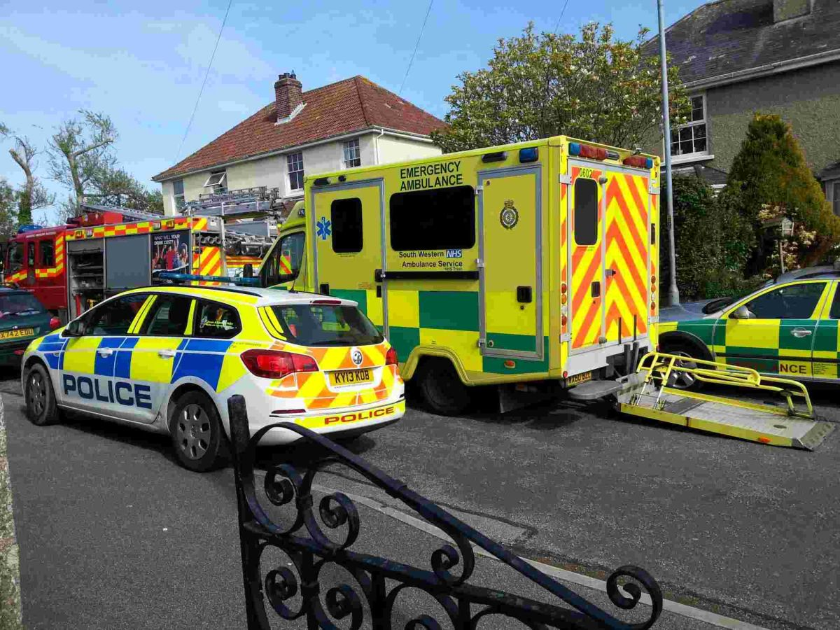 Mystery as teenager found unconscious and bloody hanging from Falmouth school fence