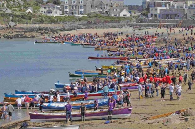 Be inspired by Falmouth's World Champion gig rowers at free 'come and try' event tomorrow