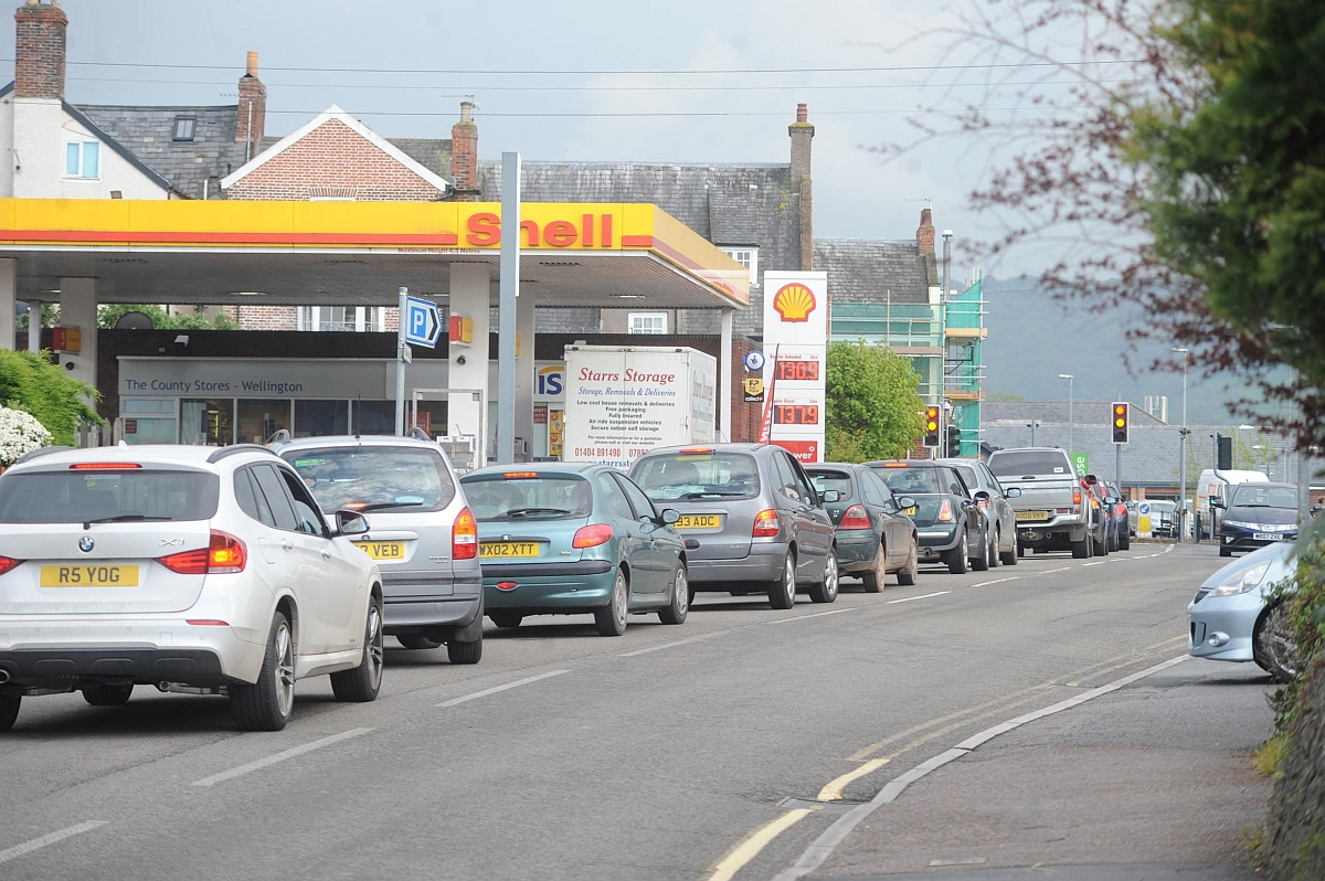 Traffic is regularly queued back on Longforth Road but it is hoped scenes like these will become a thing of the past.